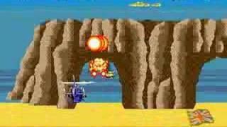Super Thunder Blade - Stage 2 [TAS]