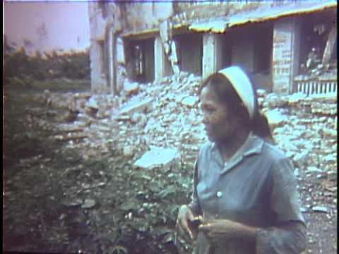 Bomb Damage In Hanoi (1972)