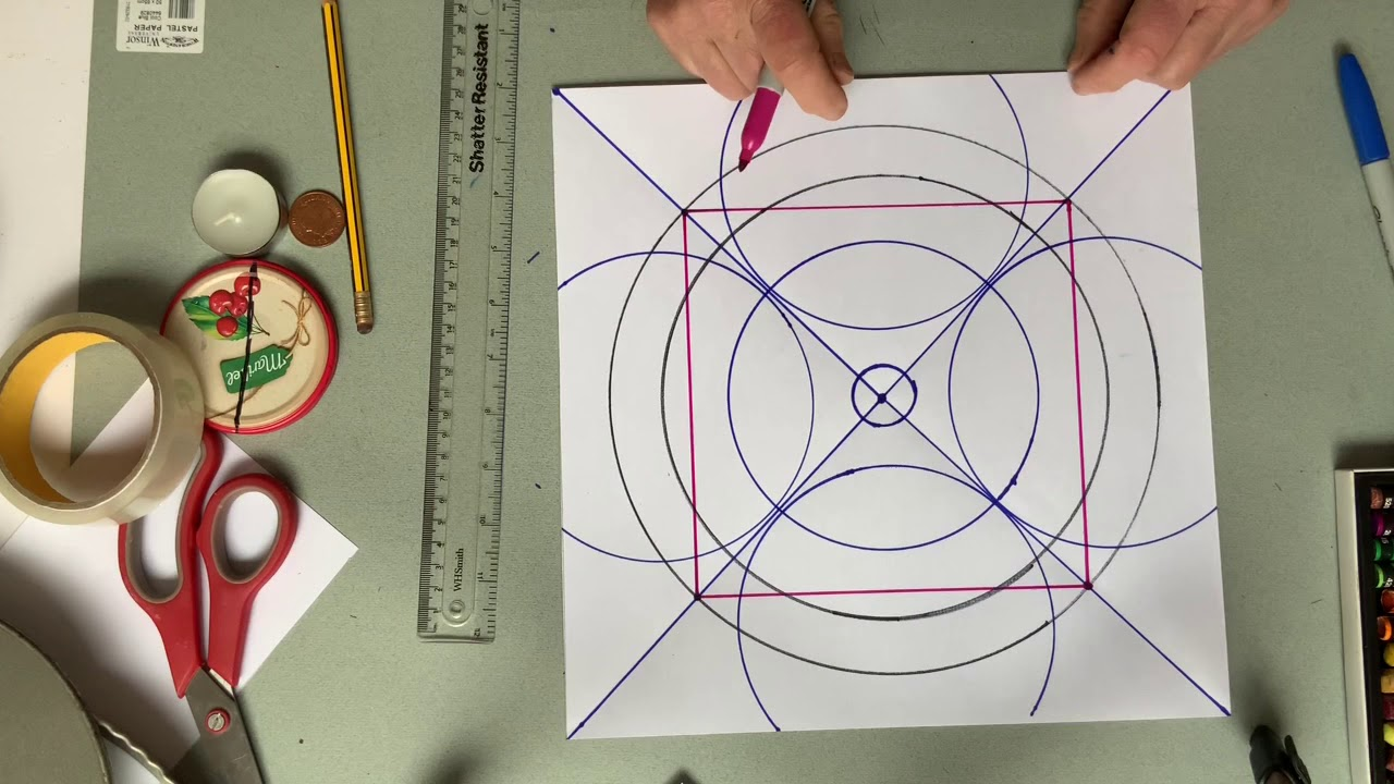 Create a Mandala with Lucy
