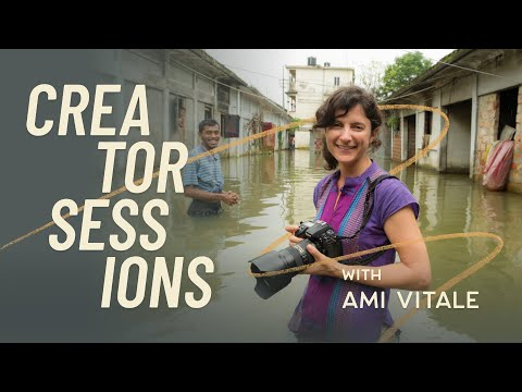 Look through the powerful and raw lens of award-wining photojournalist, Ami Vitale