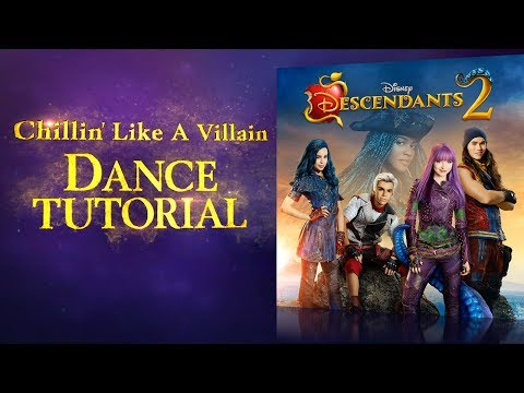 Chillin' Like a Villain | Dance Tutorial | Descendants 2