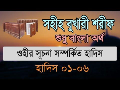 Bukhari Sharif Bangla MP3, Part 1, Hadis 01-06