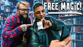Buying Strangers ANYTHING They Want at a Magic Shop!!