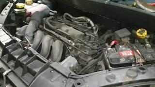 Где находится номер двигателя Ford Fiesta/Fusion/Focus