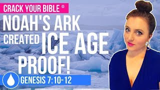 ❄ Ice Age & Global Warming Caused by Noah's Flood | Genesis 7