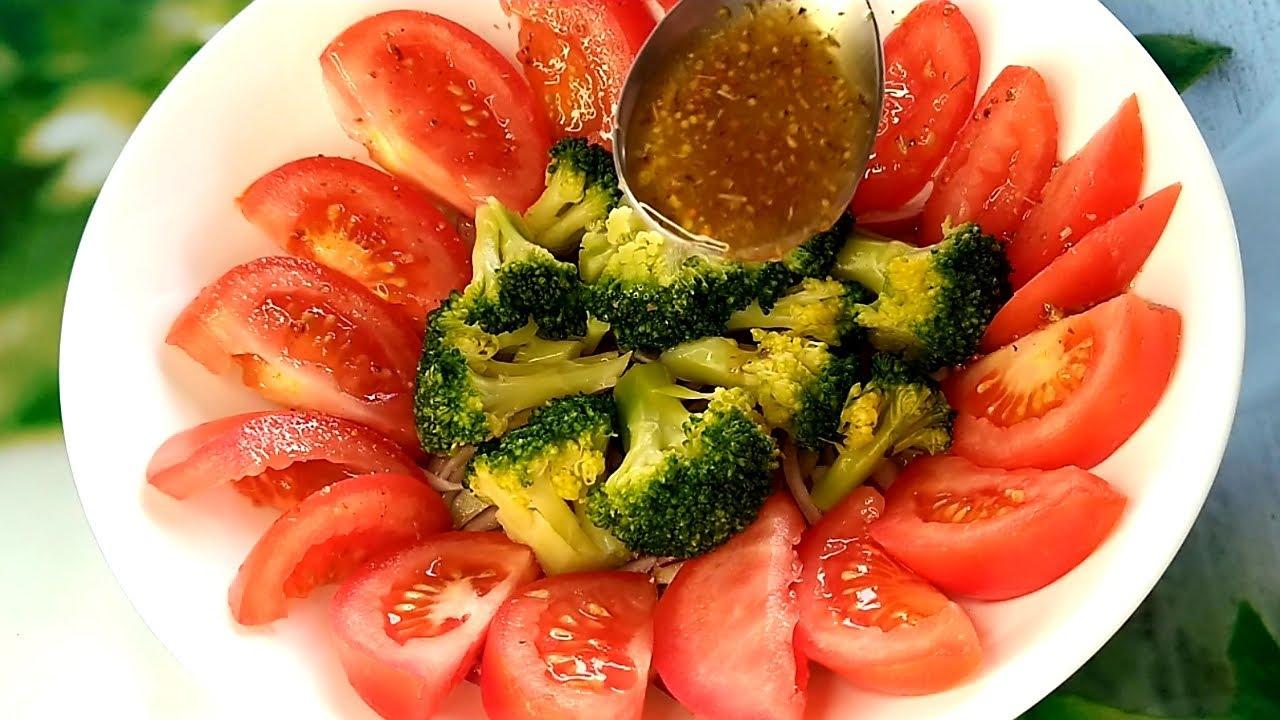 Ensalada de brócoli con aderezo espectacular, una receta Rica y diferente