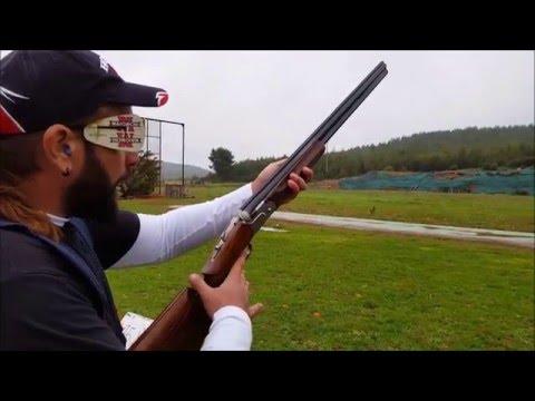 Beretta DT 11 trap shooting practice Malakasa Greece