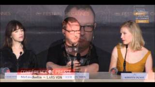 Lars Von Trier Nazi Comments at Cannes 2011