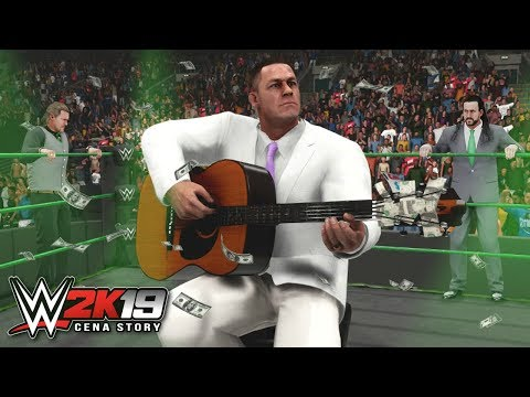 WWE 2K19 Story - John Cena CELEBRATES WWE AGGRESSION Brand Triumph - Ep.10