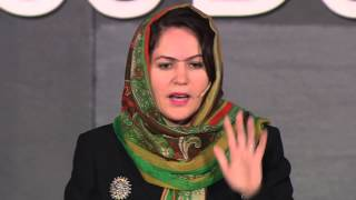 When women are at the table | Fawzia Koofi | TEDxPlaceDesNations