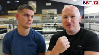 ALEX RUTTER: Now training with Matthew Hatton