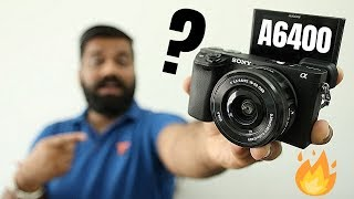 Sony A6400 Unboxing amp First Look - My New Camera
