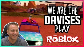 Fun With Bad Cops | Roblox Jailbreak EP-44 | We Are The Davises Gaming