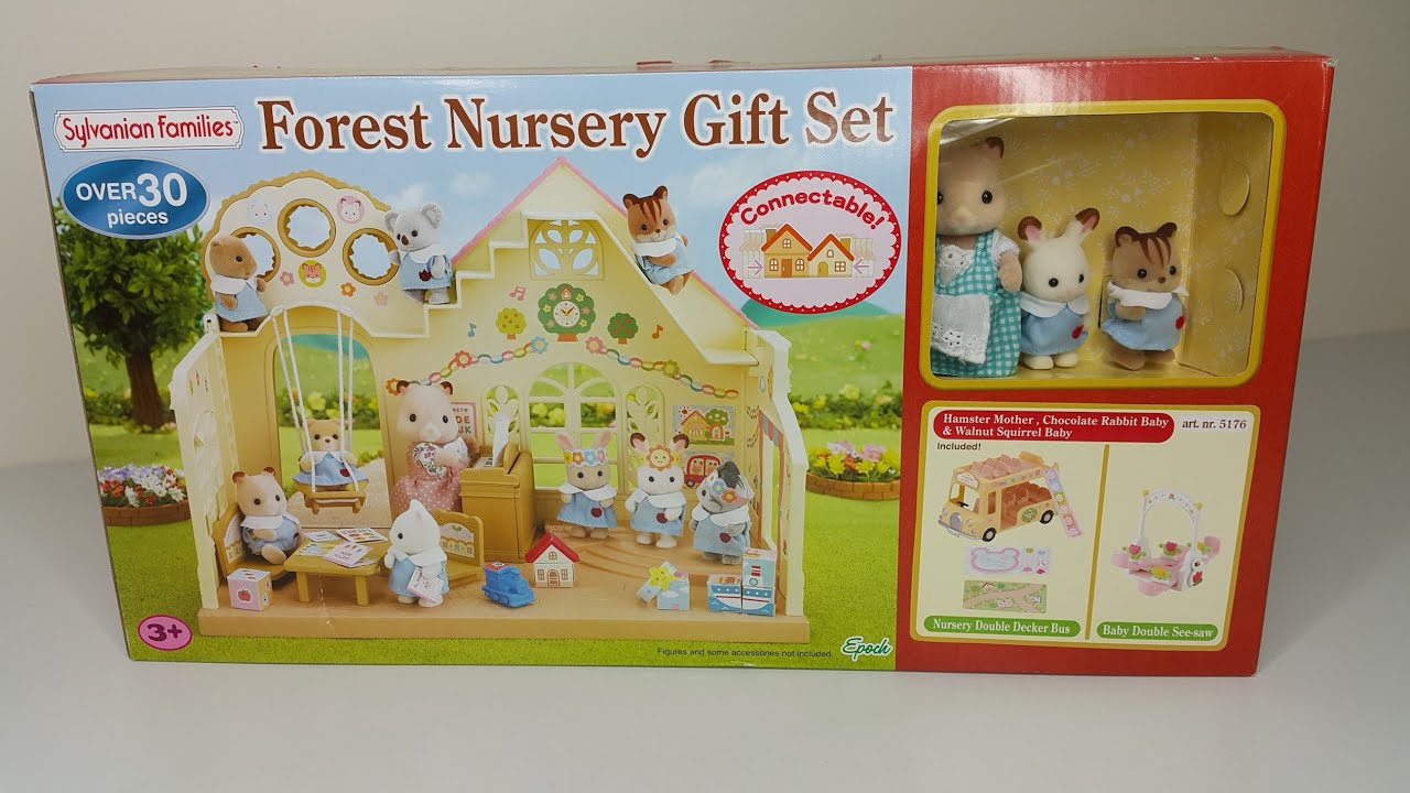 Forest Nursery Gift Set Unboxing Review Sylvanian