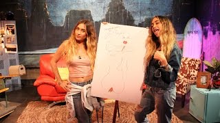 Kaplan Twins Draw a Customized Masterpiece on Set *EXPLICIT* | The Zoo