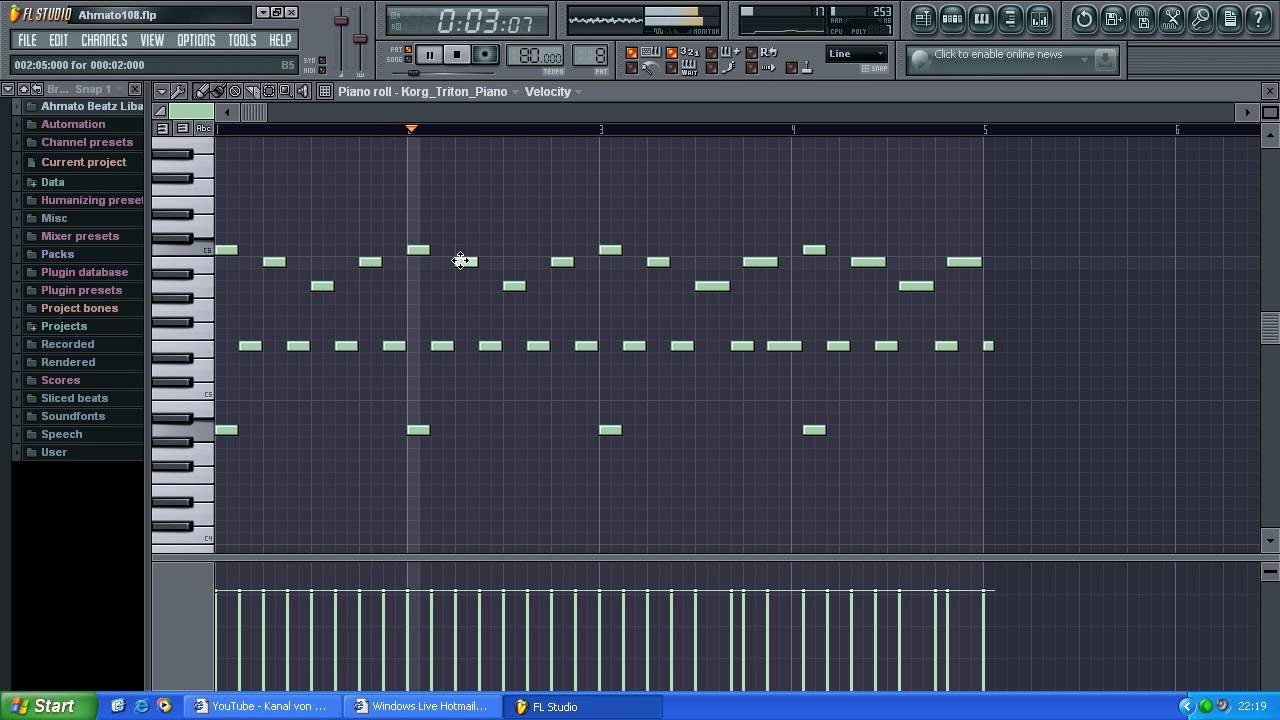 How to make a hip hop rnb piano beat in fl studio youtube hexwebz Images