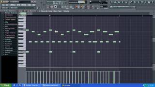How to make a Hip Hop RnB Piano Beat in Fl Studio