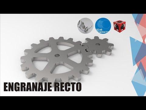 Tutorial Rhino 3D | Modelado Mecánico | Engranaje Recto