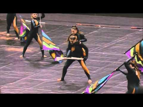 "Avon High School Winter Guard 2016. ""Crude"". WGI Finals."