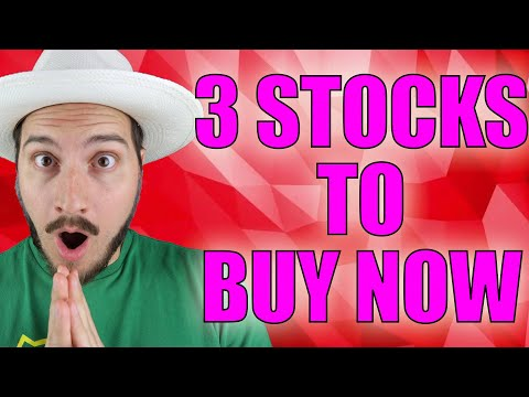 3 STOCKS IM BUYING NOW! JUNE 2021