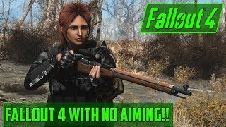 Can you beat fallout WITHOUT AIMING!! - ONLY V.A.T.S FALLOUT 4 - LIVE