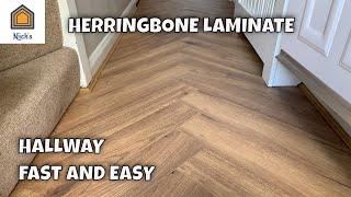 Herringbone Laminate Flooring, Can You Lay Laminate Flooring In A Herringbone Pattern