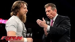 Mr. McMahon's grand plan for John Cena and Daniel Bryan at SummerSlam: Raw, July 29, 2013