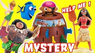 Moana Pop-Up Pirate Mystery Game Clue Episode with Maui, Dory, Tinkerbell and Ariel!