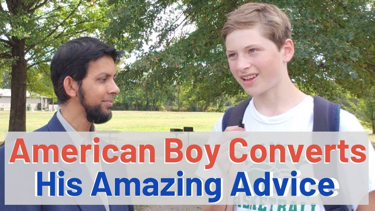 Download American Boy Converts to Islam - His Advice to the youth?