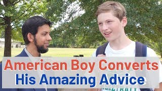American Boy Converts to Islam - His Advice to the youth