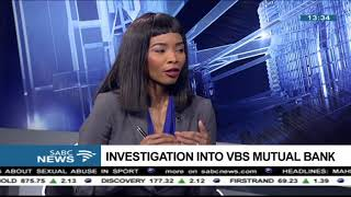 Investigation into VBS Mutual Bank - Anoosh Rooplal