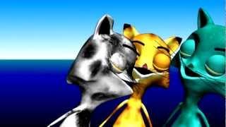 María Elena Walsh - Chacarera de los Gatos (3D)