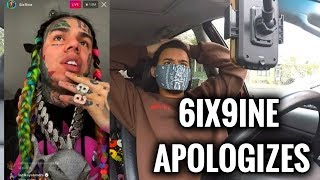 Baixar 6IX9INE Apologizes & Explains Why He Snitched On IG Live