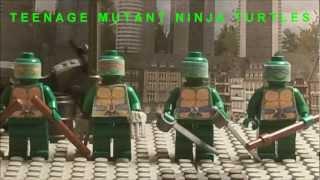 lego teenage mutant ninja turtles theme