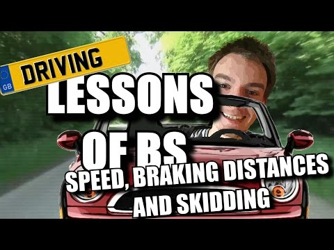 Driving Theory Test Revision - Speed and Braking distances