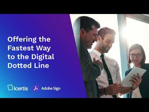The Icertis Experience for Adobe Sign