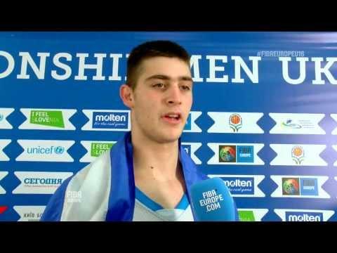 Video : Εθνική Παίδων | Παπαγιάννης Γιώργος δηλώσεις για την κατάκτηση της 3ης θέσης στο FIBAEuropeTV
