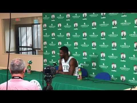 Boston Celtics rookie Semi Ojeleye on comparisons to Jae Crowder