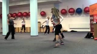 Dance Diplom Double aerobic - Iva Mojžíšková, Lucie Čadanová