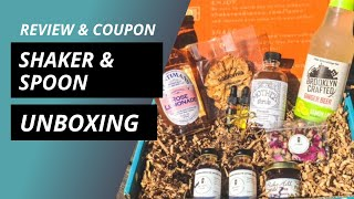 Shaker And Spoon Cocktail Kit Unboxing Review \u0026 Coupon