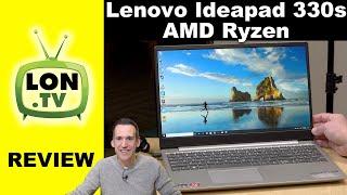 Lenovo Ideapad 330S Laptop with AMD Ryzen Review - Budget Laptop!