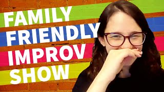 June 5th - BYOI's Family Friendly Improv Show