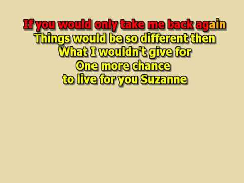 Sorry Suzanne The Hollies best karaoke instrumental lyrics