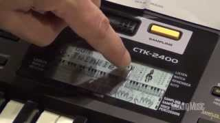 Casio Keyboard CTK 2400 Product Review