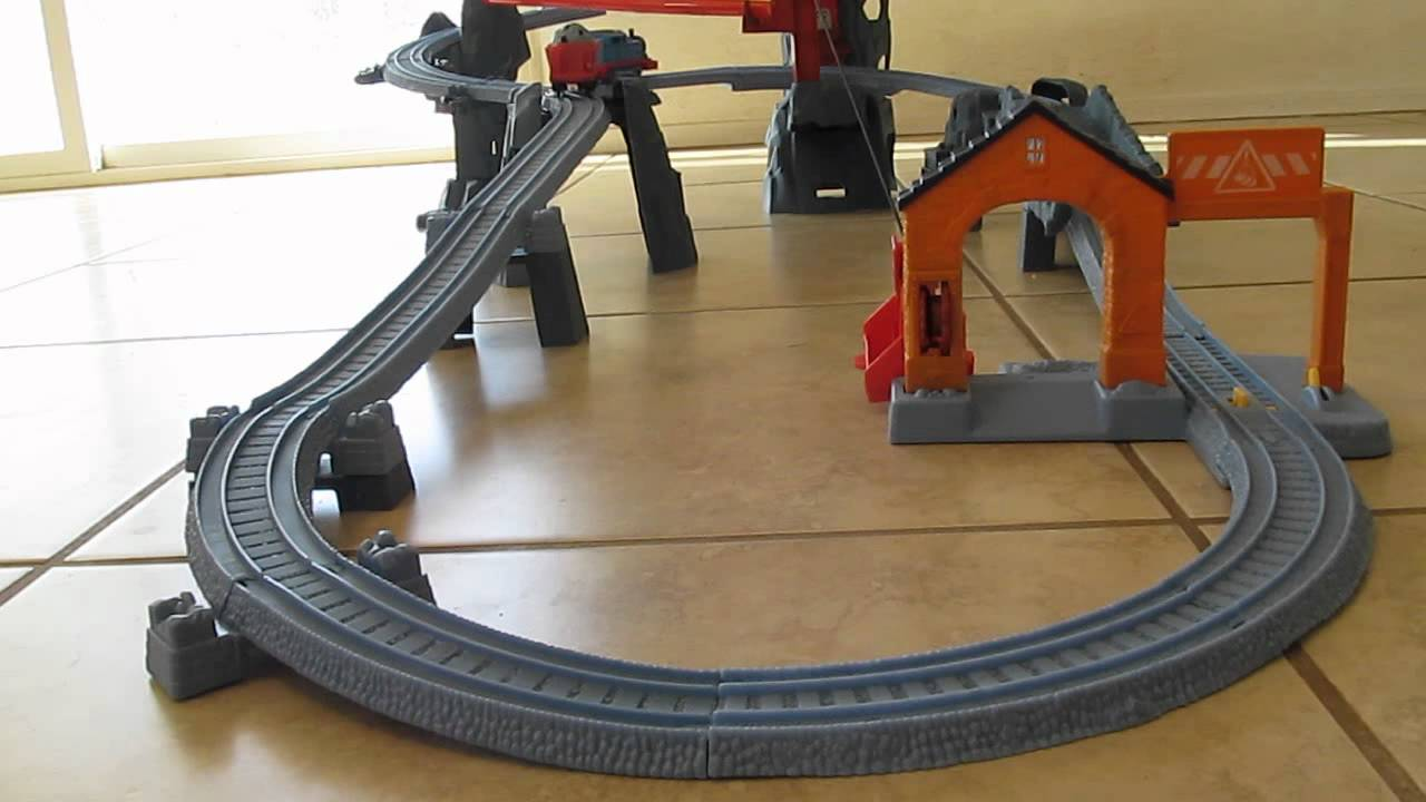 trackmaster mountain quarry instructions