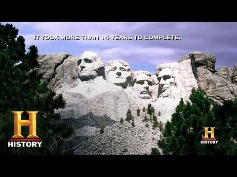 Deconstructing history mount rushmore history youtube for Mount rushmore history facts