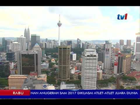 EKONOMI MALAYSIA -  BERKEMBANG 5.9% TAHUN LALU [14 FEB 2018]