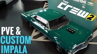 "THE CREW 2 || ""PVE Style"" CO-OP Race & Impala Customization"