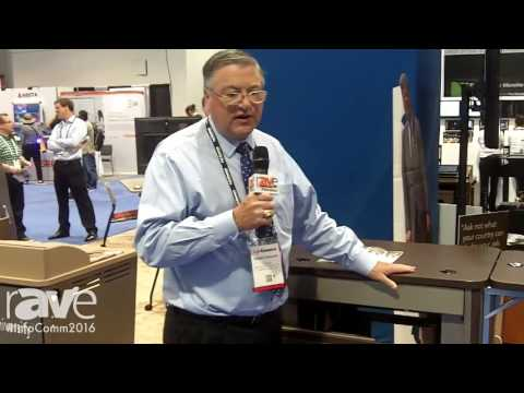 InfoComm 2016: Spectrum Industries Shows rAVe Its Media Manager Series of Lecterns