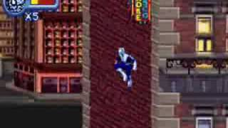 Spider Man Mysterio's Menace Downtown Lvl (GBA)